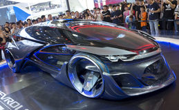 Auto China 2016. Chevrolet FNR concept electric car in 2016 Beijing International Automotive Exhibition, in May,Beijing city, China Royalty Free Stock Photos