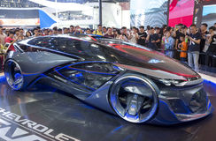 Auto China 2016. Chevrolet FNR concept electric car in 2016 Beijing International Automotive Exhibition, in May,Beijing city, China Royalty Free Stock Image
