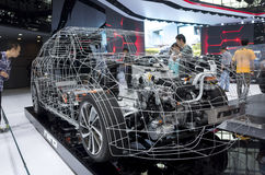Auto China 2016. Dongfeng KIA booth in 2016 Beijing International Automotive Exhibition, in May,Beijing city, China Stock Images