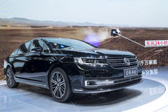 Auto China 2016. Dongfeng A9 limousine in 2016 Beijing International Automotive Exhibition, in May,Beijing city, China Royalty Free Stock Photography