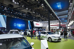 Auto China 2016. Dongfeng Motor Corporation booth in 2016 Beijing International Automotive Exhibition, in May,Beijing city, China Stock Images