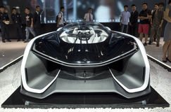 Auto China 2016. Faraday Future's FFzero1 concept electric sp[rts car in 2016 Beijing International Automotive Exhibition, in May,Beijing city, China Stock Photo