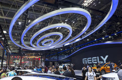Auto China 2016. GEELY auto booth in 2016 Beijing International Automotive Exhibition, in May,Beijing city, China Stock Photo