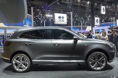 Auto China 2016. Germany brand BORGWARD suv in 2016 Beijing International Automotive Exhibition, in May,Beijing city, China Stock Photography
