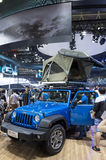 Auto China 2016. Jeep Rubicon in 2016 Beijing International Automotive Exhibition, in May,Beijing city, China Royalty Free Stock Photos