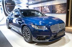 Auto China 2016. Lincoln Continental limousine in 2016 Beijing International Automotive Exhibition, in May,Beijing city, China Stock Images