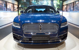 Auto China 2016. Lincoln Continental limousine in 2016 Beijing International Automotive Exhibition, in May,Beijing city, China Stock Photos