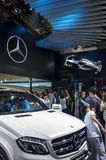 Auto China 2016. Mercedes Benz booth in 2016 Beijing International Automotive Exhibition, in May,Beijing city, China Stock Photography