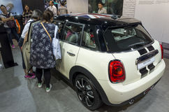 Auto China 2016. MINI in 2016 Beijing International Automotive Exhibition, in May,Beijing city, China Royalty Free Stock Photography