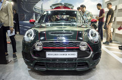 Auto China 2016. MINI in 2016 Beijing International Automotive Exhibition, in May,Beijing city, China Royalty Free Stock Photos