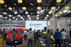 Auto China 2016. Renault booth in 2016 Beijing International Automotive Exhibition, in May,Beijing city, China Stock Photos