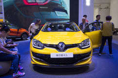 Auto China 2016. Renault Megane R.S. in 2016 Beijing International Automotive Exhibition, in May,Beijing city, China Stock Image