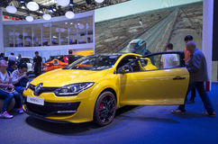 Auto China 2016. Renault Megane R.S. in 2016 Beijing International Automotive Exhibition, in May,Beijing city, China Stock Photo