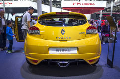 Auto China 2016. Renault Megane R.S. in 2016 Beijing International Automotive Exhibition, in May,Beijing city, China Royalty Free Stock Photos
