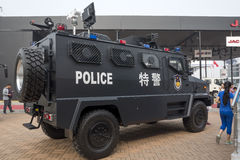 Auto China 2016. A SWAT special vehicle of China First Automobile Works(FAW) in 2016 Beijing International Automotive Exhibition, in May,Beijing city, China Stock Image
