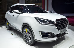 Auto China 2016. Zotye SUV in 2016 Beijing International Automotive Exhibition, in May,Beijing city, China Royalty Free Stock Image