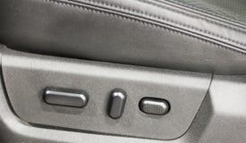 Auto controles de Seat do poder Imagens de Stock
