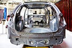 Auto corpo na planta de carro Fotos de Stock Royalty Free