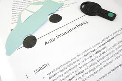 Auto coverage Royalty Free Stock Photo