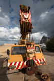 Auto Crane. Royalty Free Stock Photos
