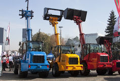Auto cranes - RAW format Stock Photography