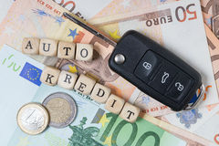 Auto Credit Royalty Free Stock Images