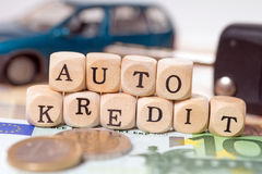 Auto Credit Stock Images