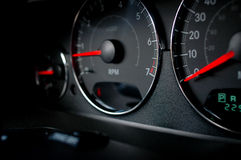 Auto dash Royalty Free Stock Image