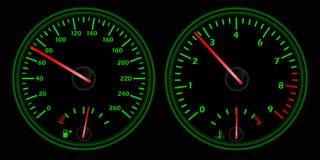 Auto dash Stock Images