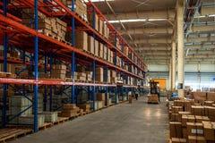 Auto de Delenpakhuis van Chongqing Minsheng Logistics Beijing Branch Stock Afbeeldingen