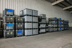 Auto de Delenpakhuis van Chongqing Minsheng Logistics Chongqing Branch Royalty-vrije Stock Afbeelding
