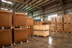 Auto de Delenpakhuis van Chongqing Minsheng Logistics Chongqing Branch Royalty-vrije Stock Foto