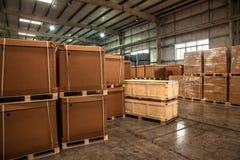 Auto de Delenpakhuis van Chongqing Minsheng Logistics Chongqing Branch Stock Foto