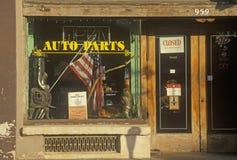 Auto Delen storefront royalty-vrije stock afbeeldingen