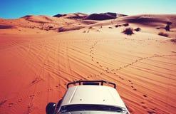 Auto in der Expedition Stockfoto