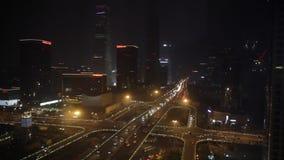 Auto in der Nacht stock video