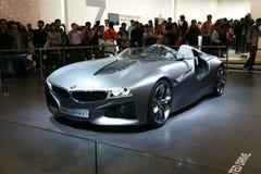 Auto des Bmw-neuen Konzeptes Stockbild
