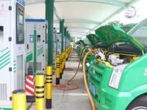 Auto des elektrischen Stroms Lizenzfreie Stockfotos