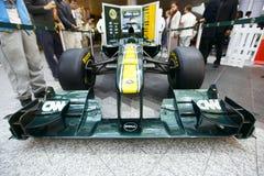 Auto des Team-Lotos-F1 lizenzfreie stockfotografie