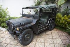 Auto des Vietnamkriegs Retro- Stockfotos