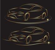 Auto design Stock Photo