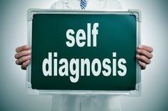Auto-diagnosi Fotografie Stock