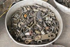 Auto die de reparatie van de motorauto herstellen Stock Foto