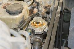 Auto die de reparatie van de motorauto herstellen Royalty-vrije Stock Fotografie