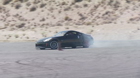 Auto die in zo Cal afdrijven stock footage