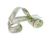 auto dollar Arkivfoto