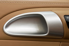Auto door handle. Royalty Free Stock Photos