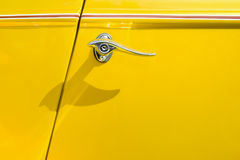 Auto door lever Royalty Free Stock Photos