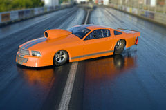 Auto - Dragster Stock Afbeelding