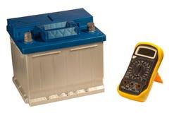 Auto-Druckspeicher und Vielfachmessgerät lizenzfreies stockbild